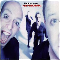 The cover of >HYPERKARMA.